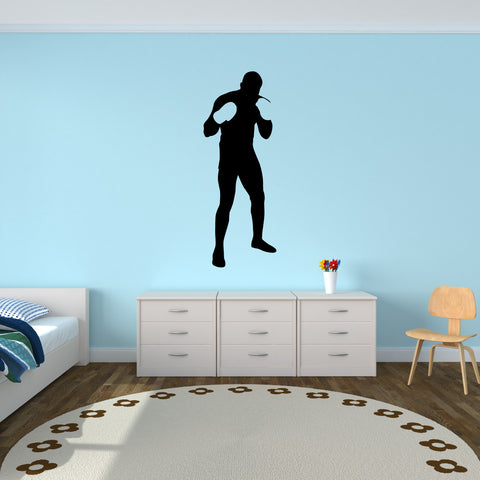 Boxing Boxer Wall Decal Sticker 3