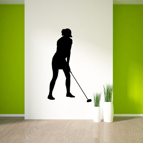 Golf Wall Decal Sticker 18
