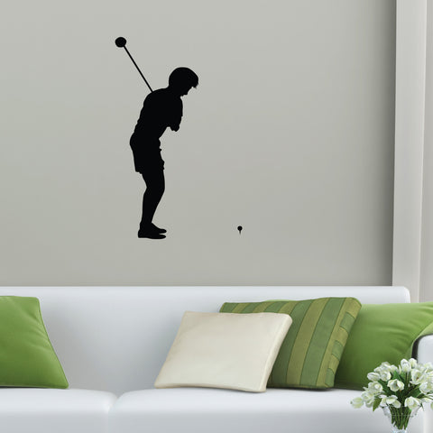 Golf Wall Decal Sticker 26