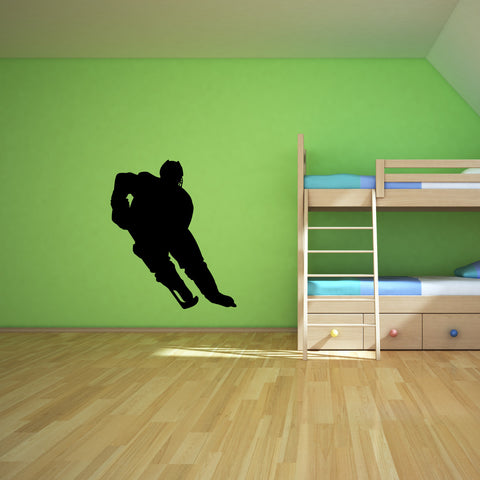 Ice Hockey Wall Decal Sticker 1