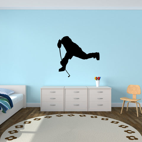Ice Hockey Wall Decal Sticker 2