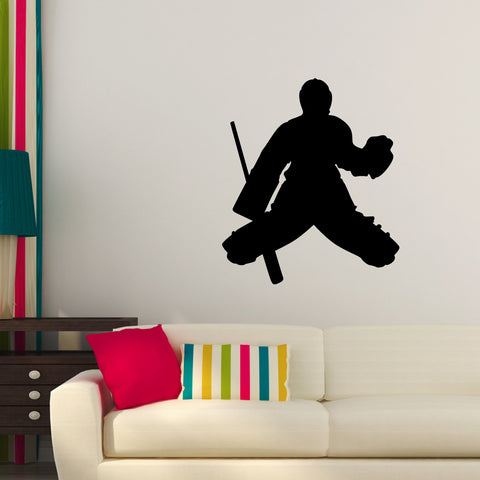 Ice Hockey Wall Decal Sticker 6