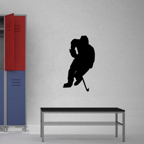 Ice Hockey Wall Decal Sticker 13