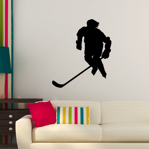 Ice Hockey Wall Decal Sticker 16