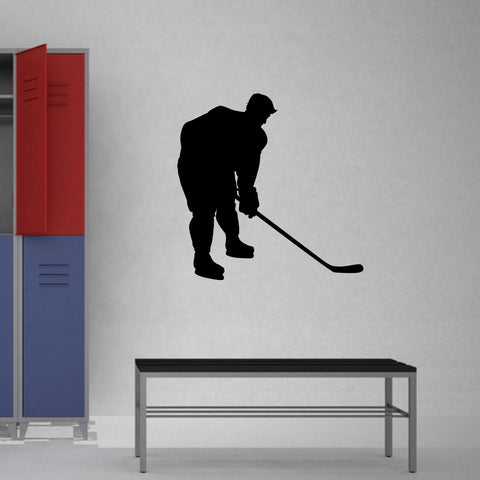 Ice Hockey Wall Decal Sticker 23