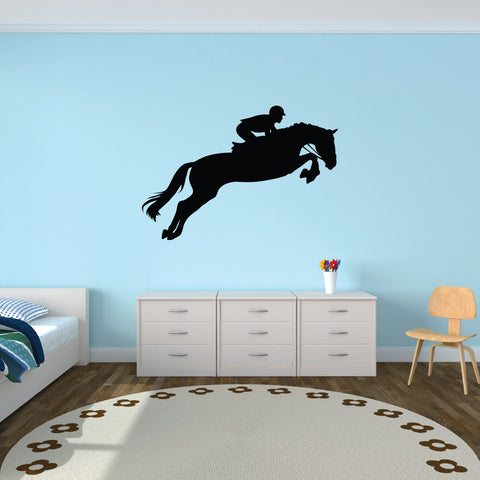 Horseback Riding Wall Decal Sticker 1