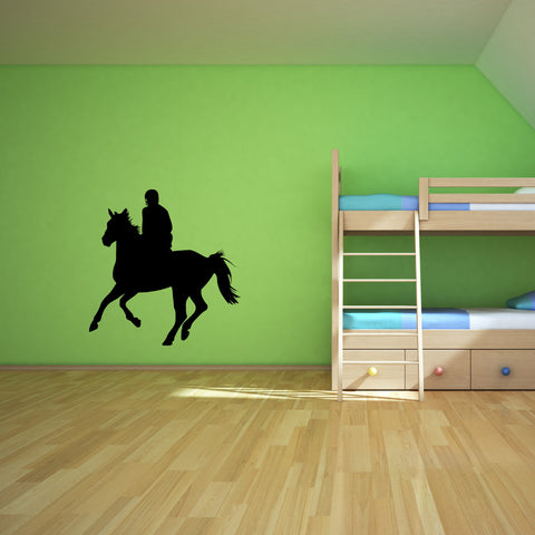 Horseback Riding Wall Decal Sticker 3