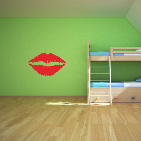 Kiss Lips Wall Decal Sticker 1