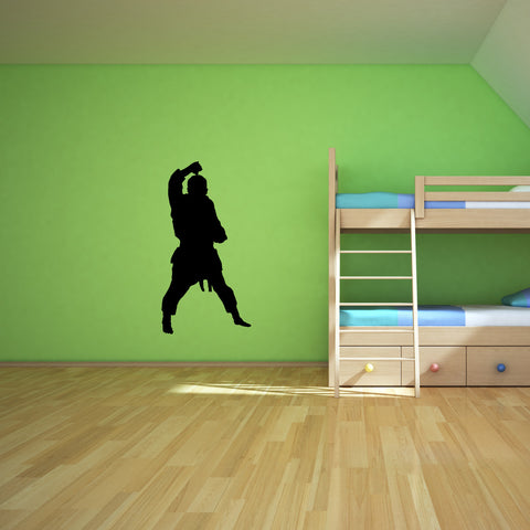 Martial Arts Wall Decal Sticker 1