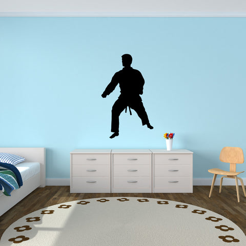 Martial Arts Wall Decal Sticker 2