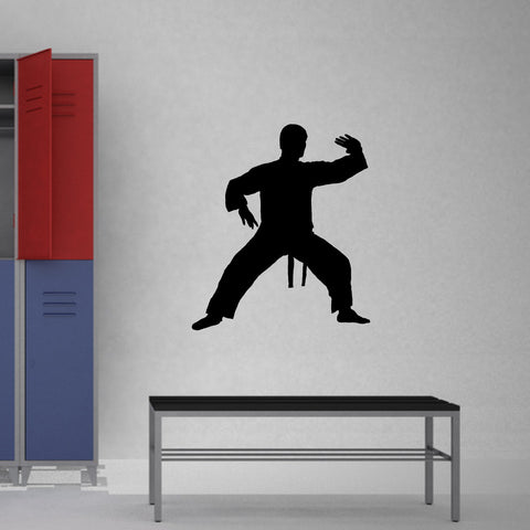 Martial Arts Wall Decal Sticker 3