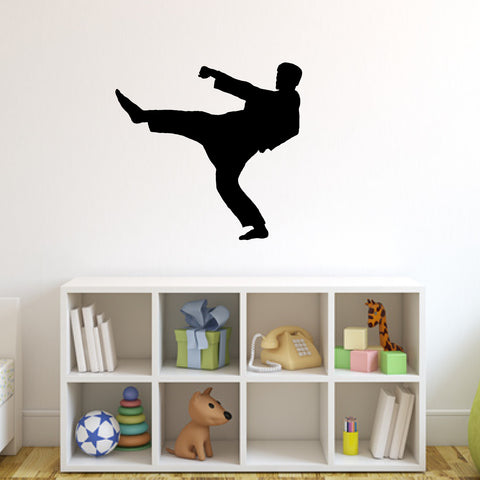 Martial Arts Wall Decal Sticker 4