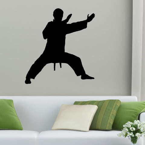 Martial Arts Wall Decal Sticker 5