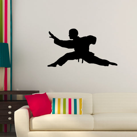 Martial Arts Wall Decal Sticker 6
