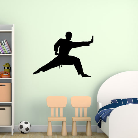 Martial Arts Wall Decal Sticker 7