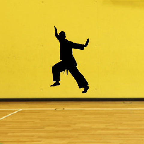 Martial Arts Wall Decal Sticker 9