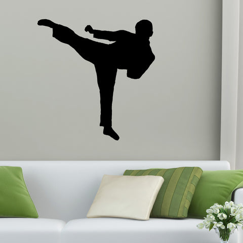 Martial Arts Wall Decal Sticker 15