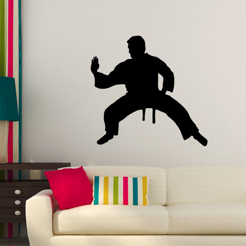 Martial Arts Wall Decal Sticker 16