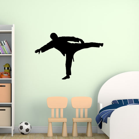 Martial Arts Wall Decal Sticker 17