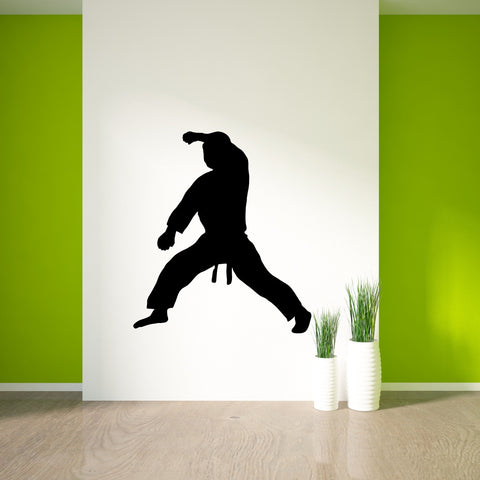 Martial Arts Wall Decal Sticker 18