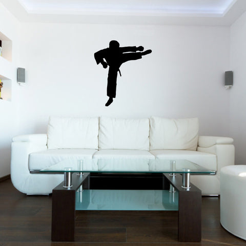Martial Arts Wall Decal Sticker 20