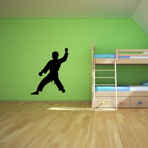 Martial Arts Wall Decal Sticker 21