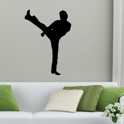 Martial Arts Wall Decal Sticker 25