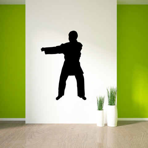 Martial Arts Wall Decal Sticker 28