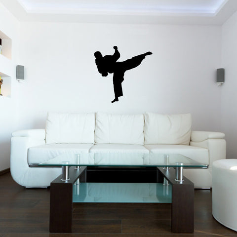 Martial Arts Wall Decal Sticker 30