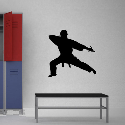 Martial Arts Wall Decal Sticker 33