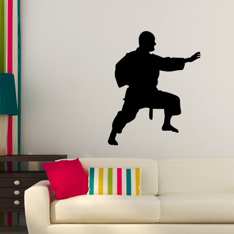 Martial Arts Wall Decal Sticker 36