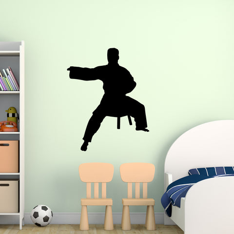 Martial Arts Wall Decal Sticker 37