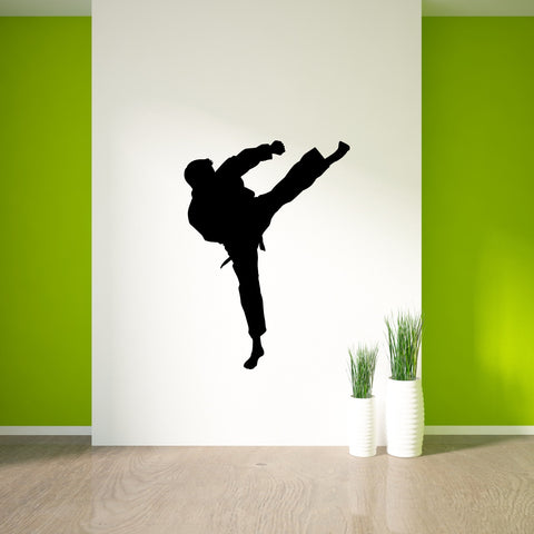 Martial Arts Wall Decal Sticker 38