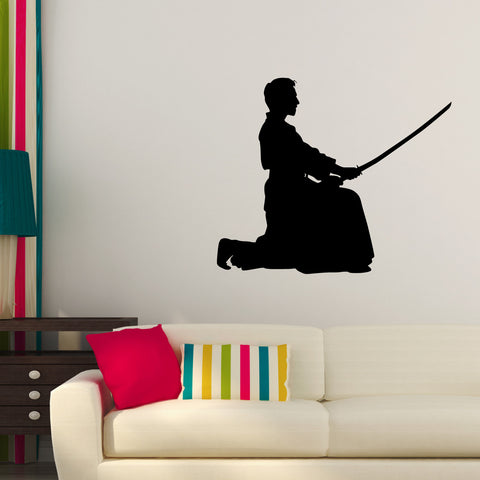 Martial Arts Wall Decal Sticker 46