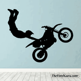 Motocross Wall Decal - Dirt Bike Sticker #00009
