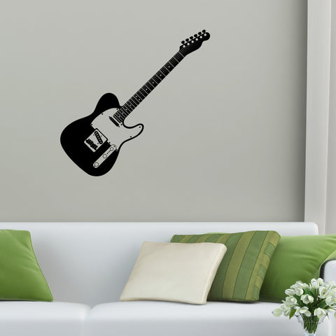 Guitar Wall Decal Sticker 1