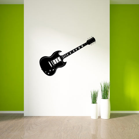 Guitar Wall Decal Sticker 3