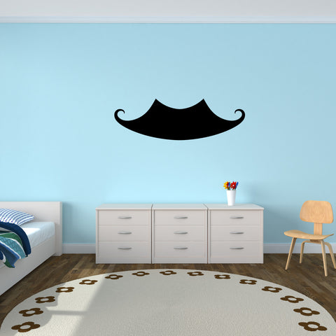 Mustache Wall Decal Sticker 2