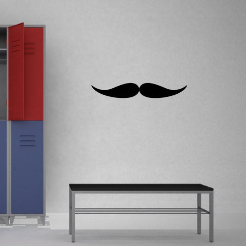 Mustache Wall Decal Sticker 3