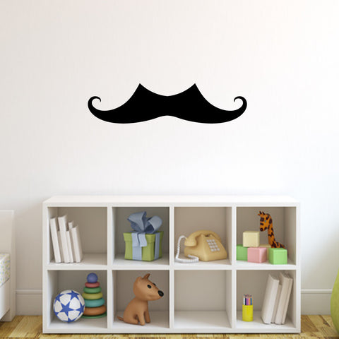 Mustache Wall Decal Sticker 4