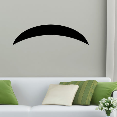 Mustache Wall Decal Sticker 5