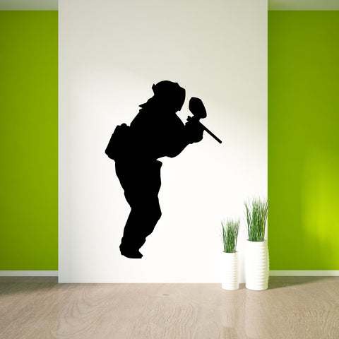 Paintball Wall Decal Sticker 1
