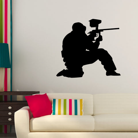 Paintball Wall Decal Sticker 2