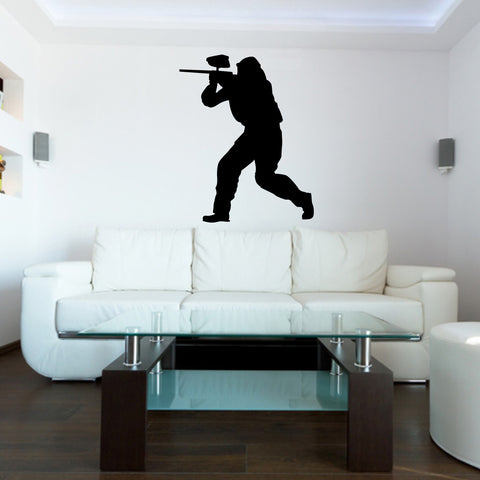 Paintball Wall Decal Sticker 3
