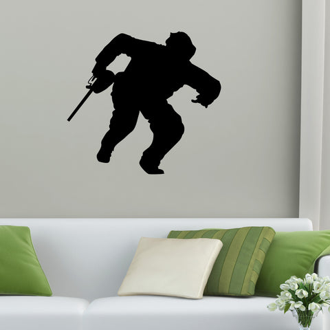 Paintball Wall Decal Sticker 4