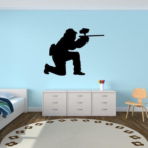 Paintball Wall Decal Sticker 5