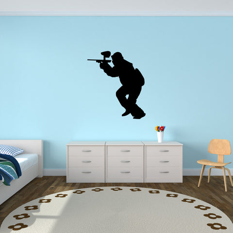 Paintball Wall Decal Sticker 8