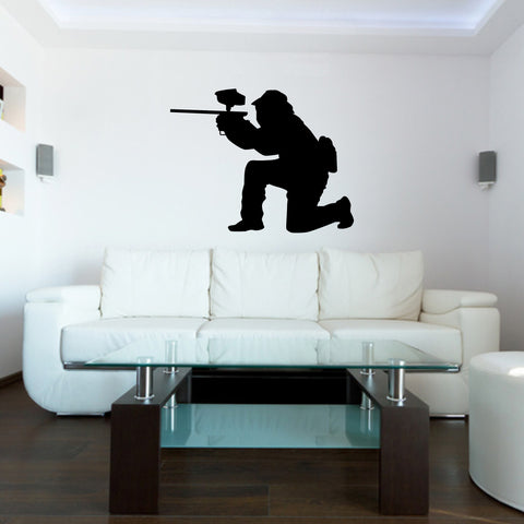 Paintball Wall Decal Sticker 10
