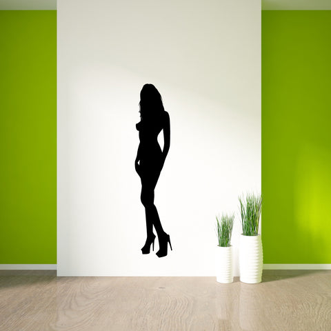 Sexy Girl Pin Up Wall Decal Sticker 2