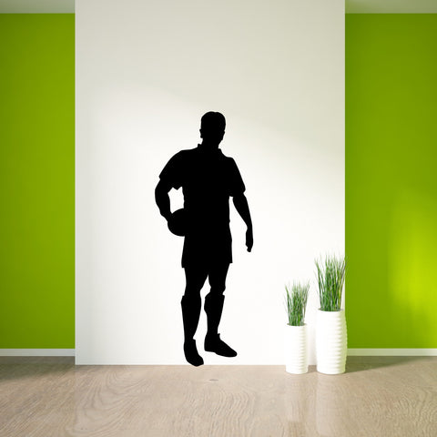 Rugby Wall Decal Sticker 2
